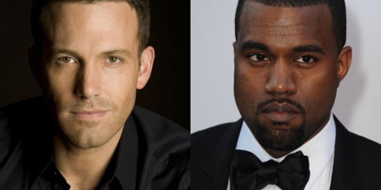 Friend Love: Ben Affleck & Kanye West Explain Bro Code In GIFs!