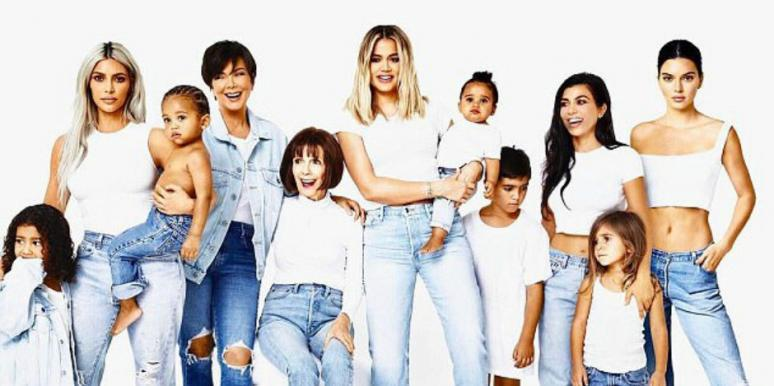 Kylie Jenner Kardashian Christmas Card