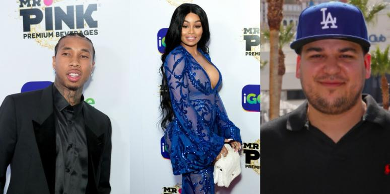 Rob Kardashian, Tyga, Blac Chyna