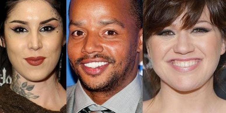 Kat Von D, Donald Faison & Kelly Clarkson