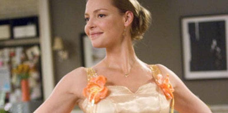 katherine heigl stars in 27 dresses
