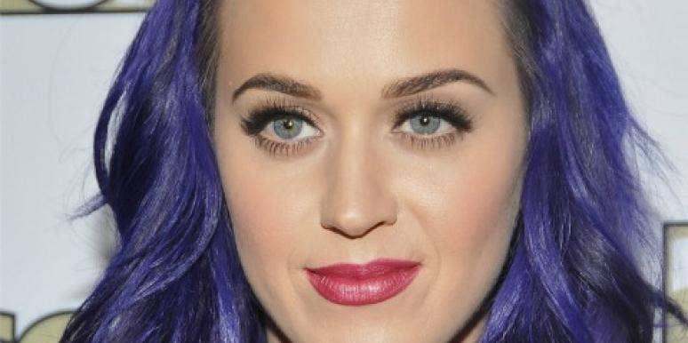 Katy Perry purple hair