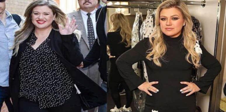 Kelly Clarkson Weight Loss Photos
