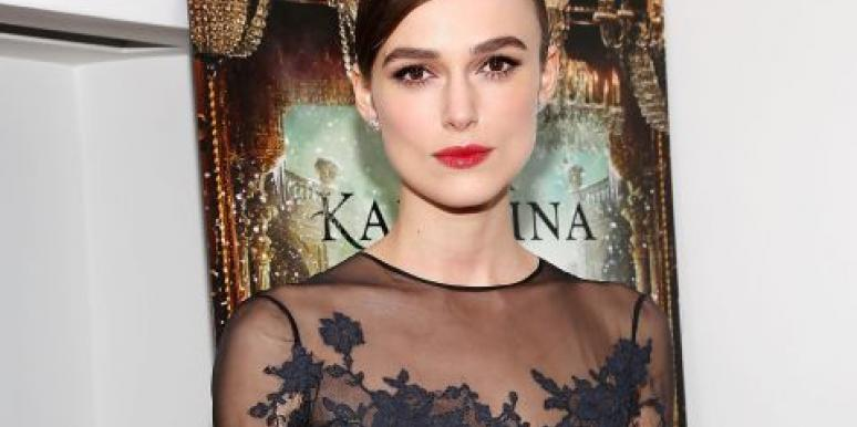 Why Keira Knightley May Stay 'Permanently Engaged'