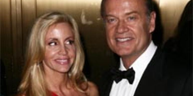 Kelsey Grammer and wife Camille Donatacci