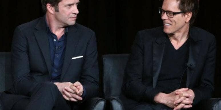 Kevin Bacon & James Purefoy