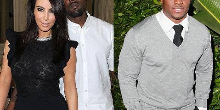Kim Kardashian, Kanye West & Reggie Bush