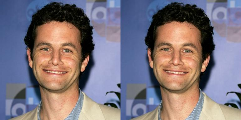kirk cameron on a step-and-repeat