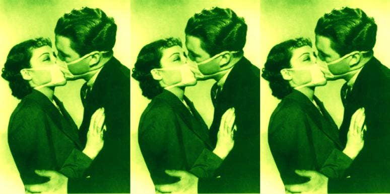 sick kiss
