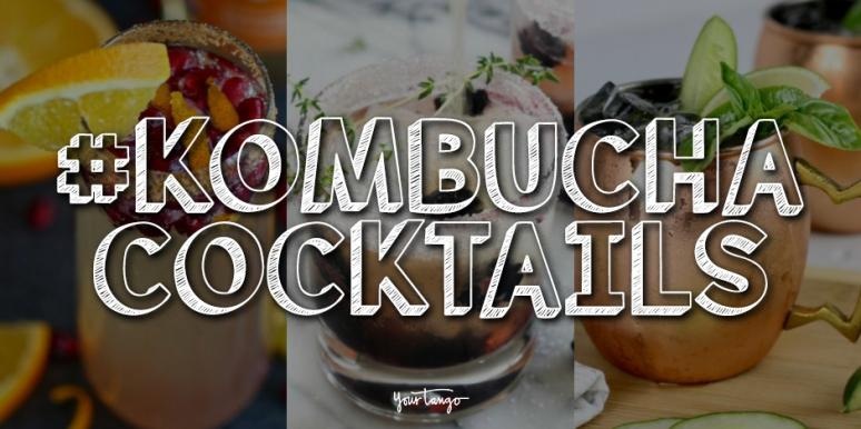 13 Kombucha Cocktail Recipes That Are Great For Happy Hour
