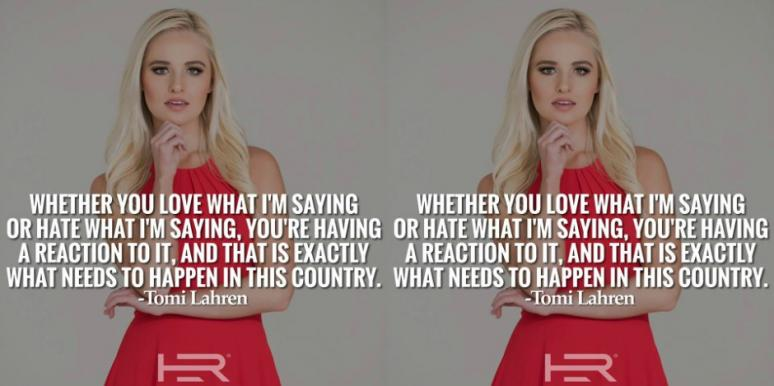 5 Things To Know About Tomi Lahren And Her Suspension