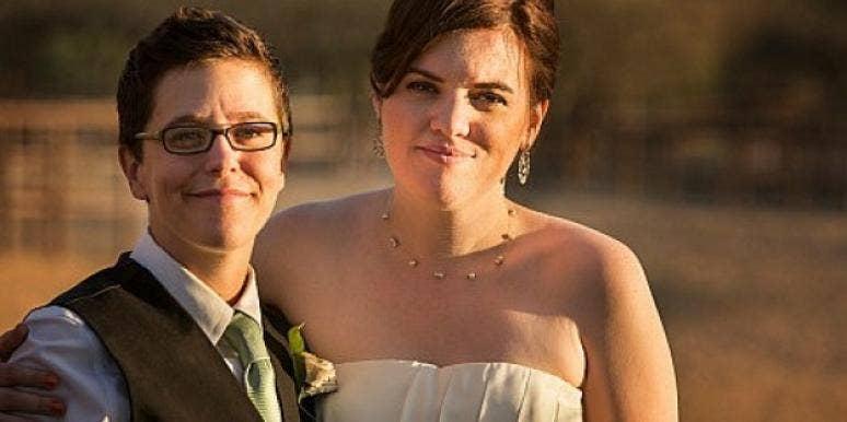 lesbian bride and bride