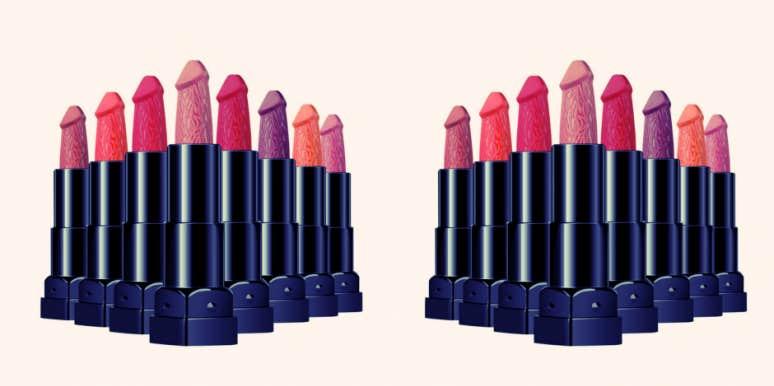 penis lipstick
