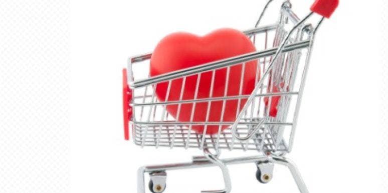 black friday love shopping cart