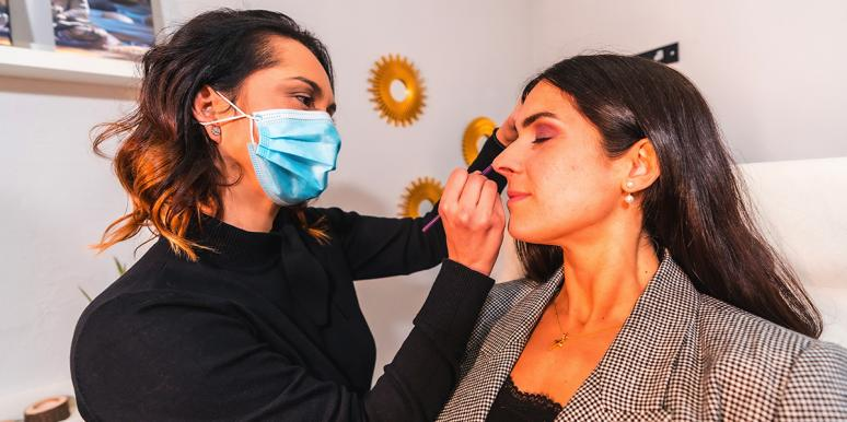 What It's Really Like Being A Makeup Artist During A Pandemic