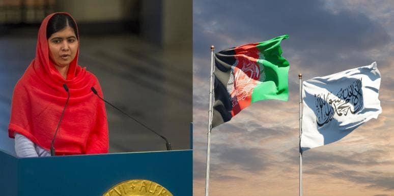 Malala Yousafzai Afghanistan Taliban