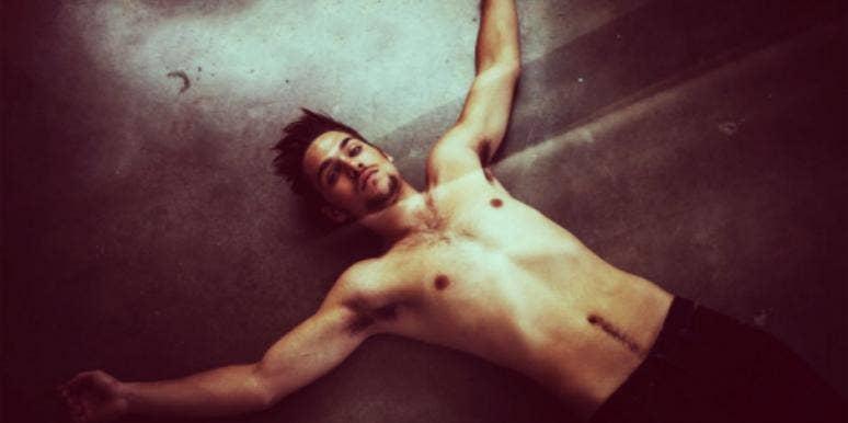 guy laying