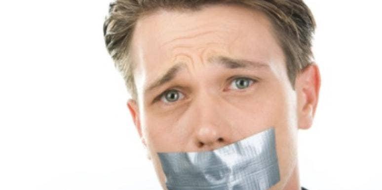 man tape mouth