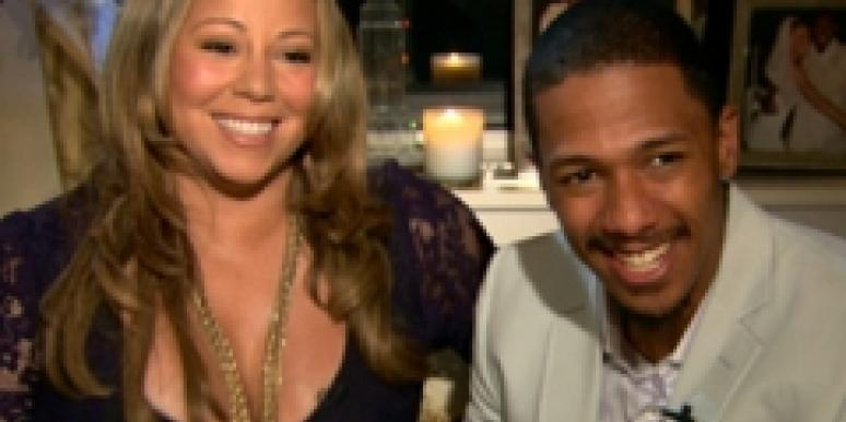 Mariah Carey and Nick Cannon confirm pregnancy on Access Hollywood