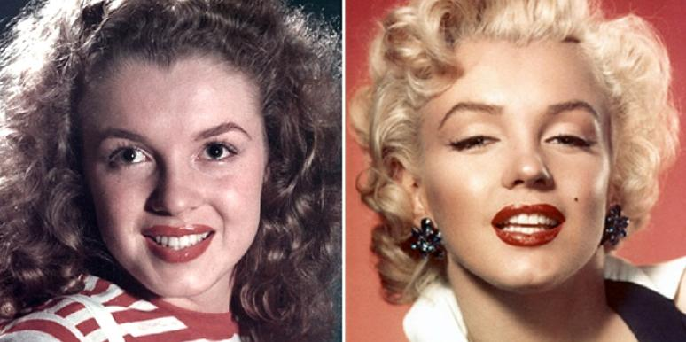 Marilyn monroe boob job