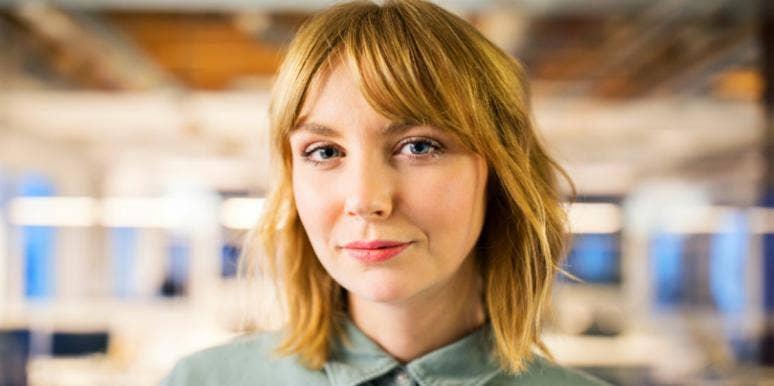 professional looking woman headshot