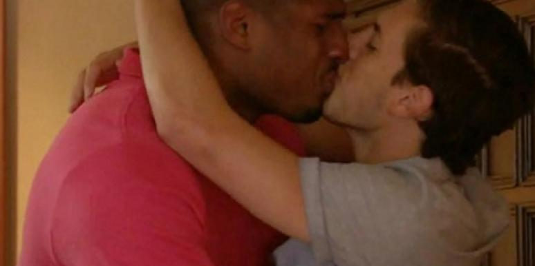 The first openly gay NFL star, Michael Sam, with his boyfriend, Vito Cammisano