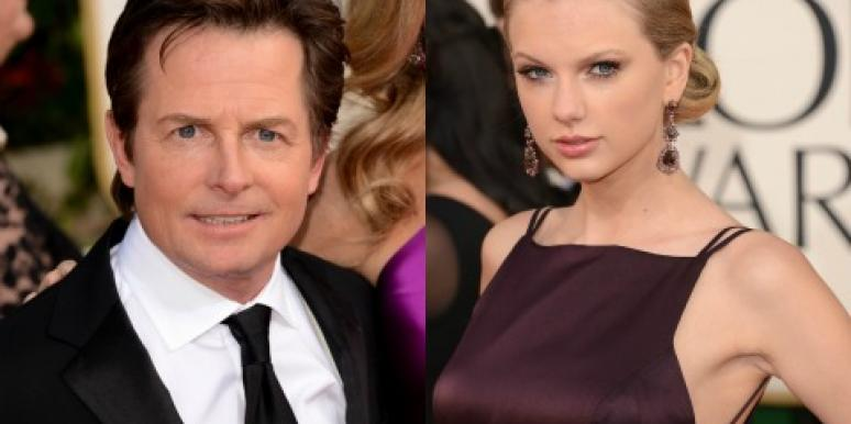 Michael J. Fox & Taylor Swift