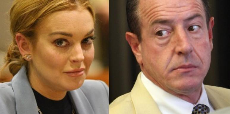 Michael & Lindsay Lohan