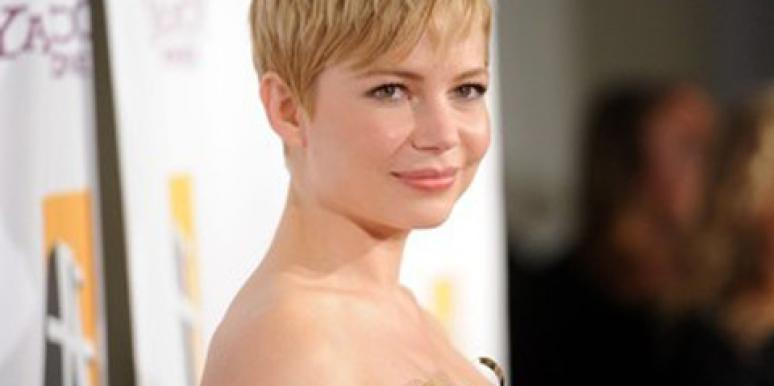Michelle Williams Confirms Straight Men Don't Like Short Hair