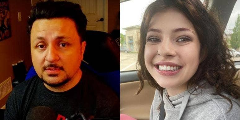 Mikey Perk and daughter Sarah