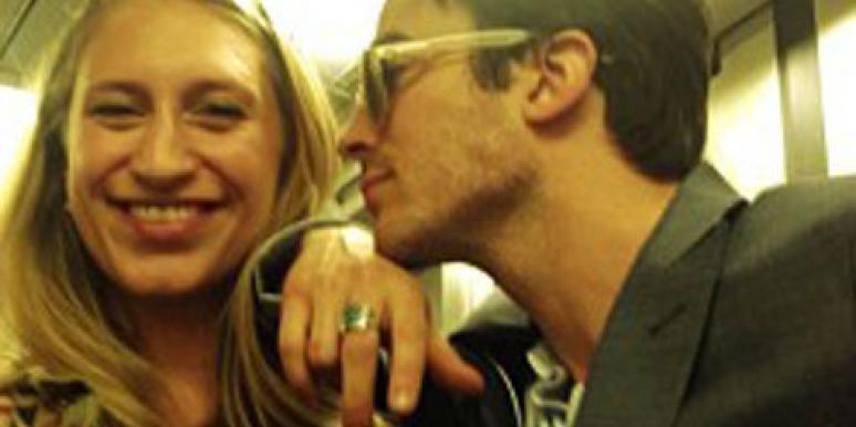 Molly Swenson and Ian Somerhalder