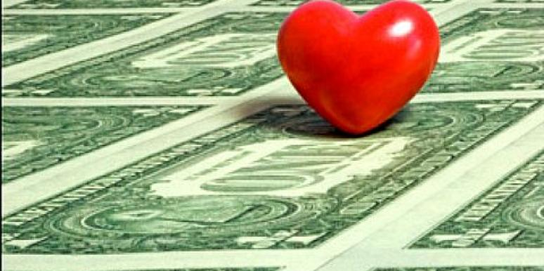 what is more important love or money