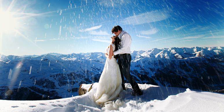 Couple Gets Married On Mount Everest And The Photos Are Breathtaking
