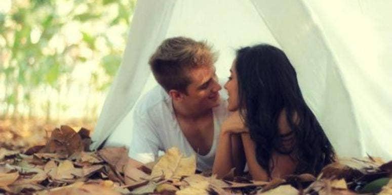 tent couple
