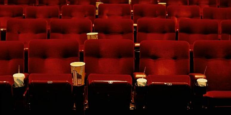 movie theater empty seats