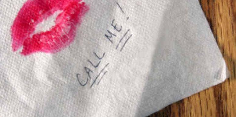 napkin call me