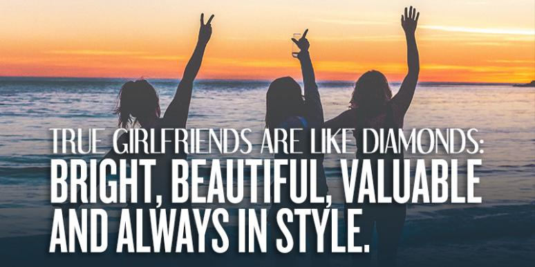 best friendship quotes to celebrate national girlfriends day