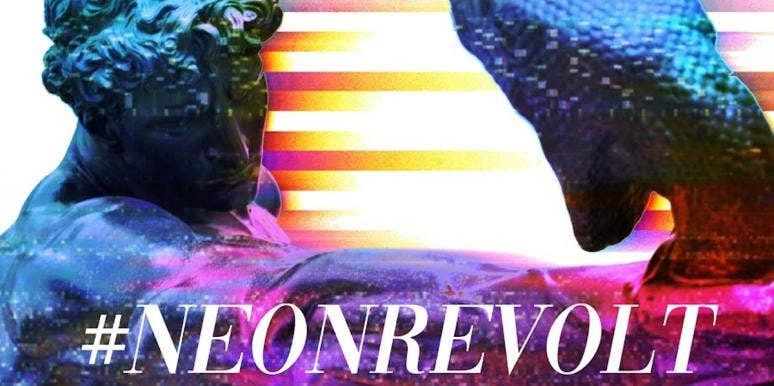 Who Is Neon Revolt? QAnon Influencer Outed As Failed Screenwriter Robert Cornero Jr.