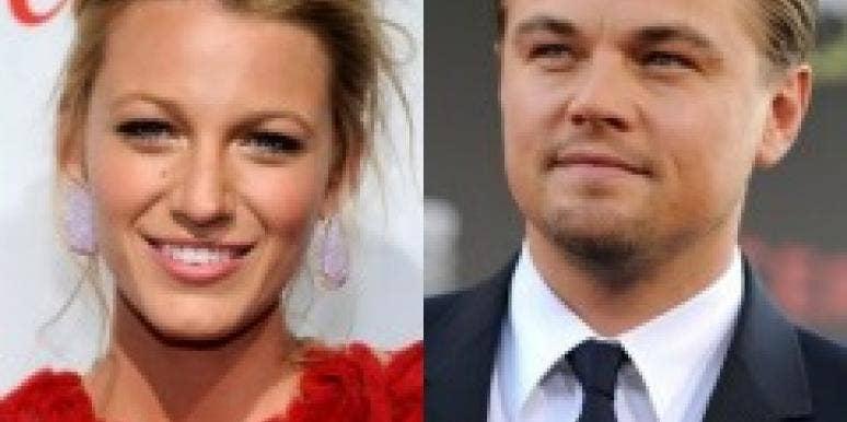Blake Lively and Leonardo DiCaprio