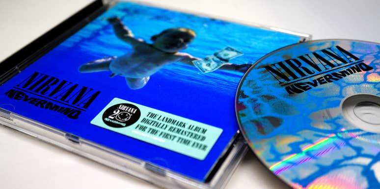 nirvana nevermind album cover baby swimming