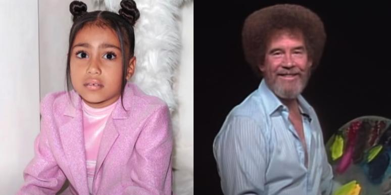 North West and Bob Ross