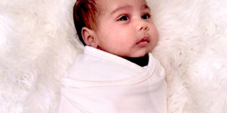 Parenting: Kim Kardashian Shows Off Baby North West!