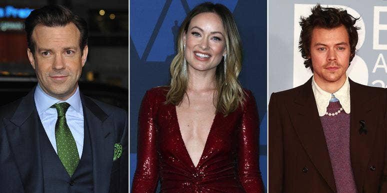 Harry Styles, Olivia Wilde, and Jason Sudeikis