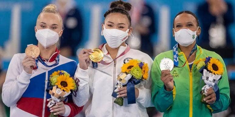 Tokyo Olympics Gymnastic Medalists