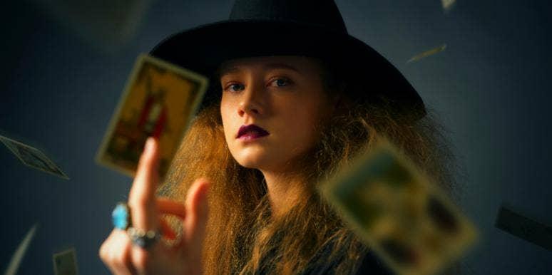 witchy woman tarot cards