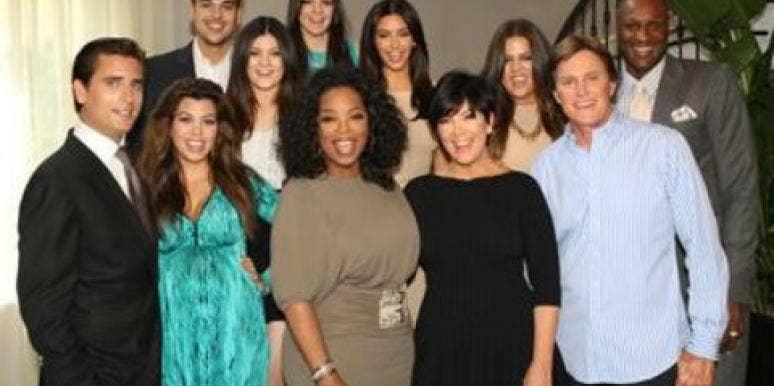 Kardashians with Oprah