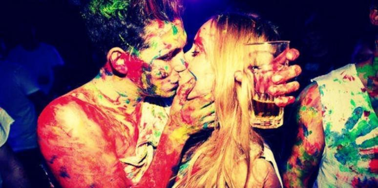 paint kiss