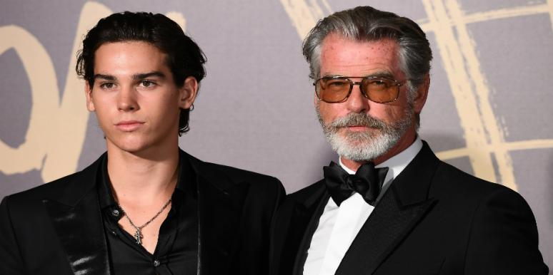 Who Is Paris Brosnan? Meet Pierce Brosnan's Son Who's A Model —And Spitting Image Of Dad!