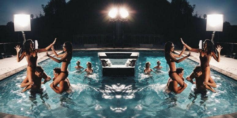 Swingers Sex Pool Party