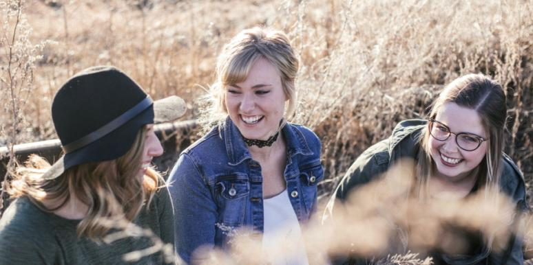 talk to friends about stress and how to feel better